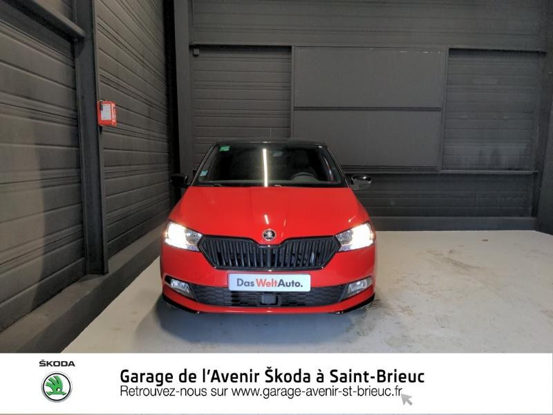 Photo 5 de l'offre de SKODA Fabia 1.0 TSI 95ch Monte Carlo Euro6d-T à 14890€ chez Garage de l'Avenir - SKODA Saint Brieuc