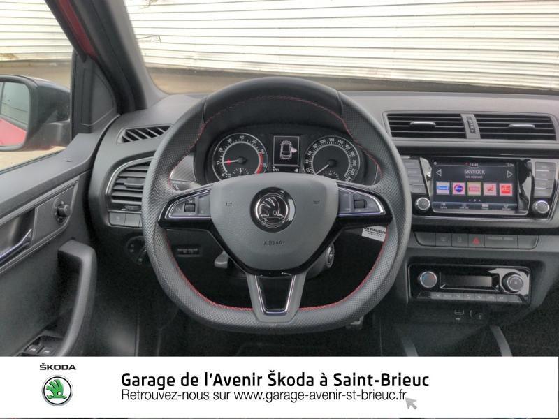 Photo 9 de l'offre de SKODA Fabia 1.0 TSI 95ch Monte Carlo Euro6d-T à 14890€ chez Garage de l'Avenir - SKODA Saint Brieuc