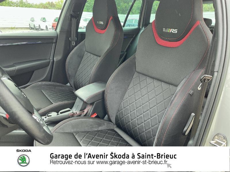 Photo 16 de l'offre de SKODA Octavia Break 2.0 TDI 184ch SCR RS DSG7 Euro6d-T à 30990€ chez Garage de l'Avenir - SKODA Saint Brieuc