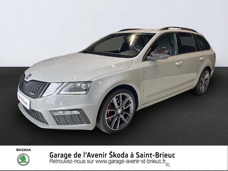 Photo 1 de l'offre de SKODA Octavia Break 2.0 TDI 184ch SCR RS DSG7 Euro6d-T à 30990€ chez Garage de l'Avenir - SKODA Saint Brieuc