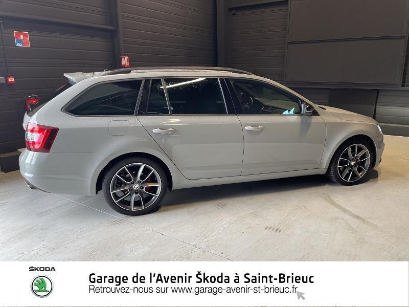 Photo 4 de l'offre de SKODA Octavia Break 2.0 TDI 184ch SCR RS DSG7 Euro6d-T à 30990€ chez Garage de l'Avenir - SKODA Saint Brieuc