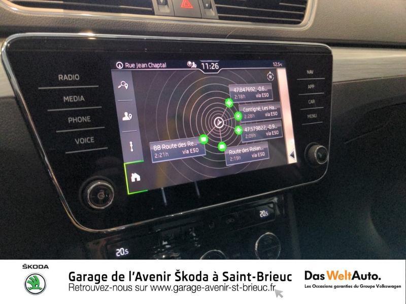 Photo 10 de l'offre de SKODA Superb Combi 2.0 TDI 150ch SCR Business DSG7 Euro6d-T EVAP 8cv à 27490€ chez Sélection Auto - Volkswagen Saint Brieuc