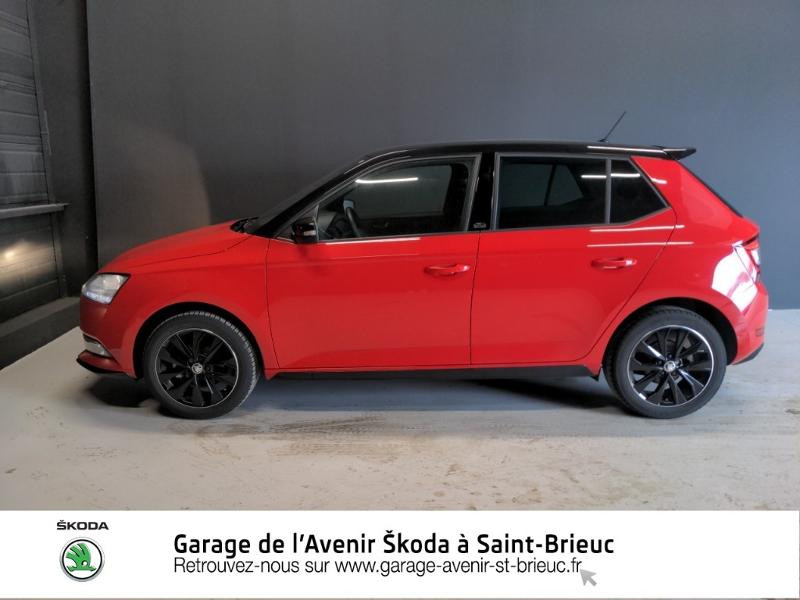Photo 4 de l'offre de SKODA Fabia 1.0 TSI 95ch Monte Carlo Euro6d-T à 14890€ chez Garage de l'Avenir - SKODA Saint Brieuc