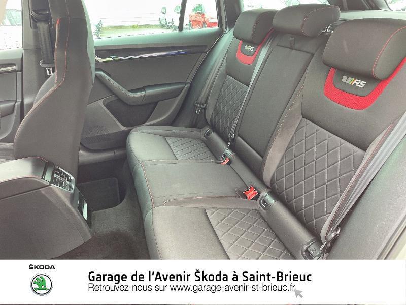 Photo 11 de l'offre de SKODA Octavia Break 2.0 TDI 184ch SCR RS DSG7 Euro6d-T à 30990€ chez Garage de l'Avenir - SKODA Saint Brieuc