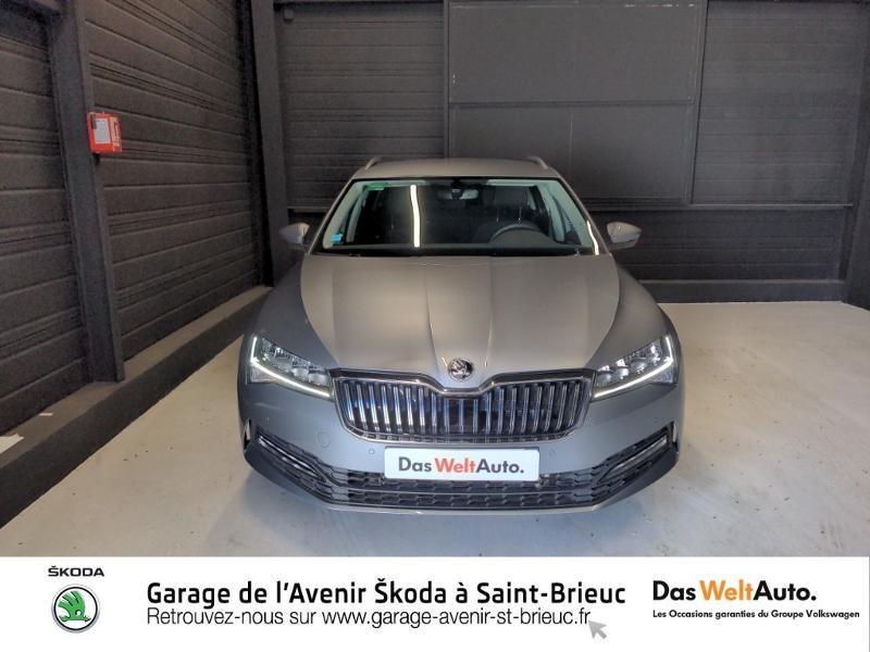 Photo 5 de l'offre de SKODA Superb Combi 2.0 TDI 150ch SCR Business DSG7 Euro6d-T EVAP 8cv à 27490€ chez Sélection Auto - Volkswagen Saint Brieuc