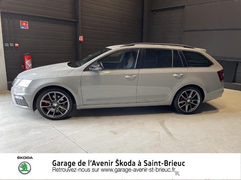 Photo 2 de l'offre de SKODA Octavia Break 2.0 TDI 184ch SCR RS DSG7 Euro6d-T à 30990€ chez Garage de l'Avenir - SKODA Saint Brieuc
