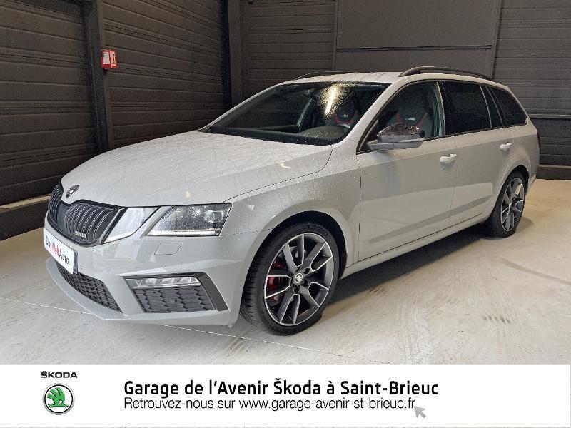 Photo 19 de l'offre de SKODA Octavia Break 2.0 TDI 184ch SCR RS DSG7 Euro6d-T à 30990€ chez Garage de l'Avenir - SKODA Saint Brieuc