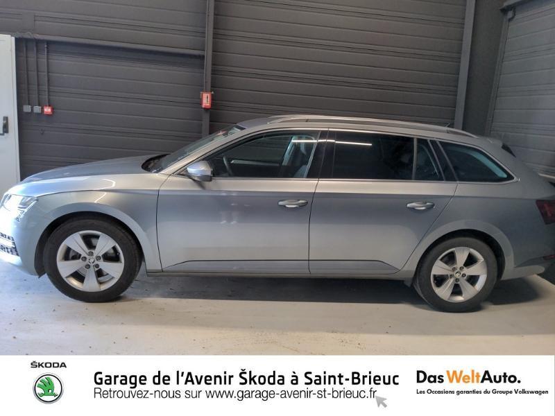 Photo 2 de l'offre de SKODA Superb Combi 2.0 TDI 150ch SCR Business DSG7 Euro6d-T EVAP 8cv à 27490€ chez Sélection Auto - Volkswagen Saint Brieuc