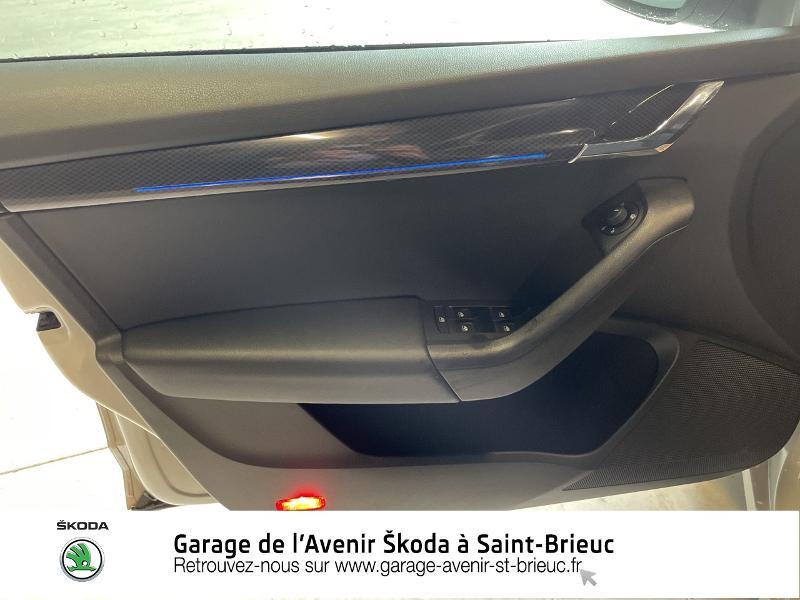 Photo 14 de l'offre de SKODA Octavia Break 2.0 TDI 184ch SCR RS DSG7 Euro6d-T à 30990€ chez Garage de l'Avenir - SKODA Saint Brieuc