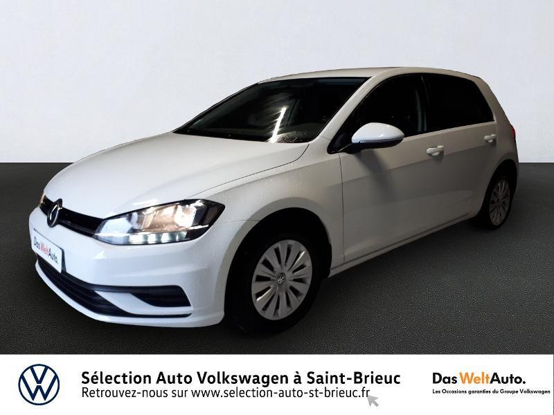 Photo 1 de l'offre de VOLKSWAGEN Golf 1.0 TSI 85ch Trendline Euro6d-T 5p à 13990€ chez Garage de l'Avenir - SKODA Saint Brieuc
