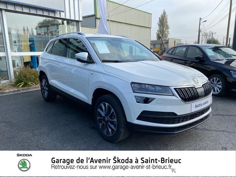 Photo 4 de l'offre de SKODA Karoq 1.0 TSI 116ch Drive Euro6d-T à 24490€ chez Garage de l'Avenir - SKODA Saint Brieuc