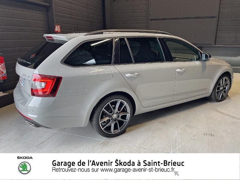Photo 3 de l'offre de SKODA Octavia Break 2.0 TDI 184ch SCR RS DSG7 Euro6d-T à 30990€ chez Garage de l'Avenir - SKODA Saint Brieuc