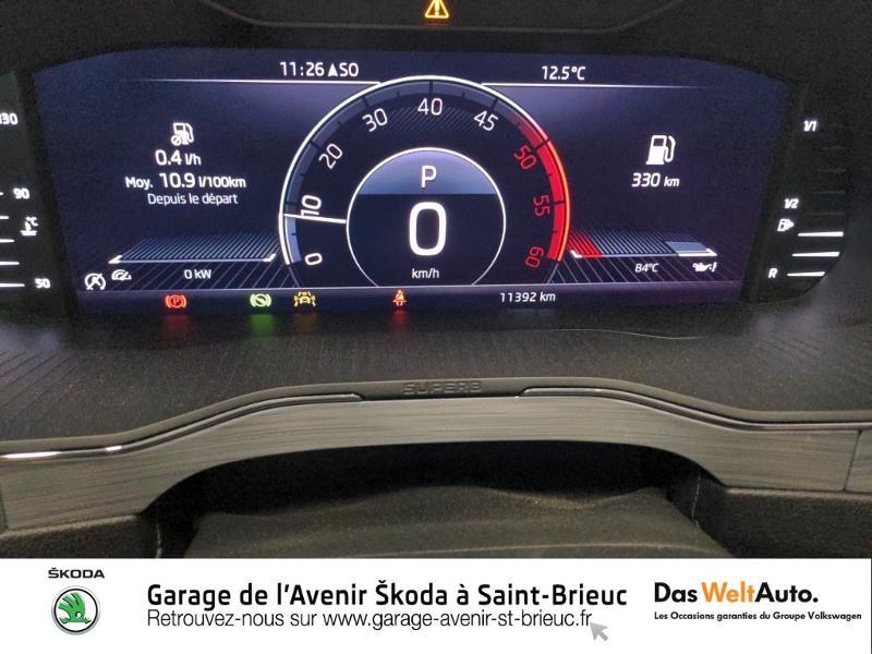 Photo 9 de l'offre de SKODA Superb Combi 2.0 TDI 150ch SCR Business DSG7 Euro6d-T EVAP 8cv à 27490€ chez Sélection Auto - Volkswagen Saint Brieuc