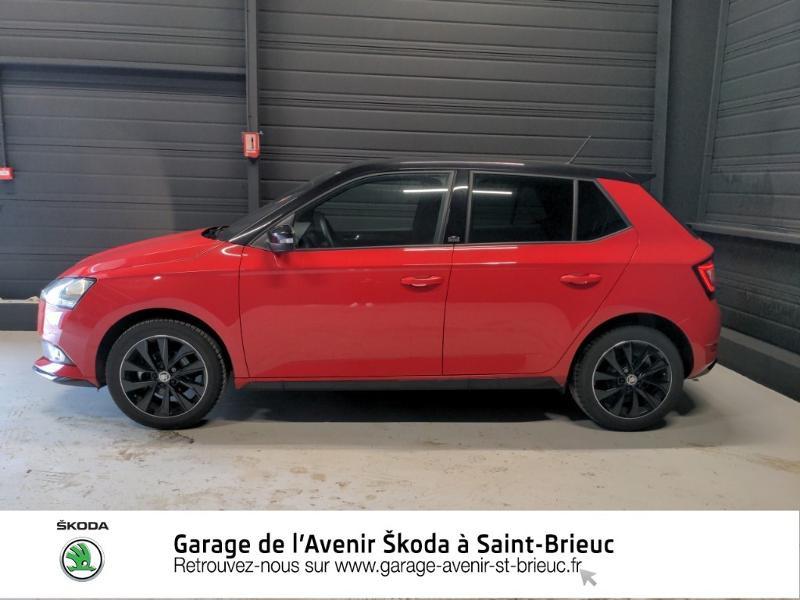 Photo 2 de l'offre de SKODA Fabia 1.0 TSI 95ch Monte Carlo Euro6d-T à 14890€ chez Garage de l'Avenir - SKODA Saint Brieuc