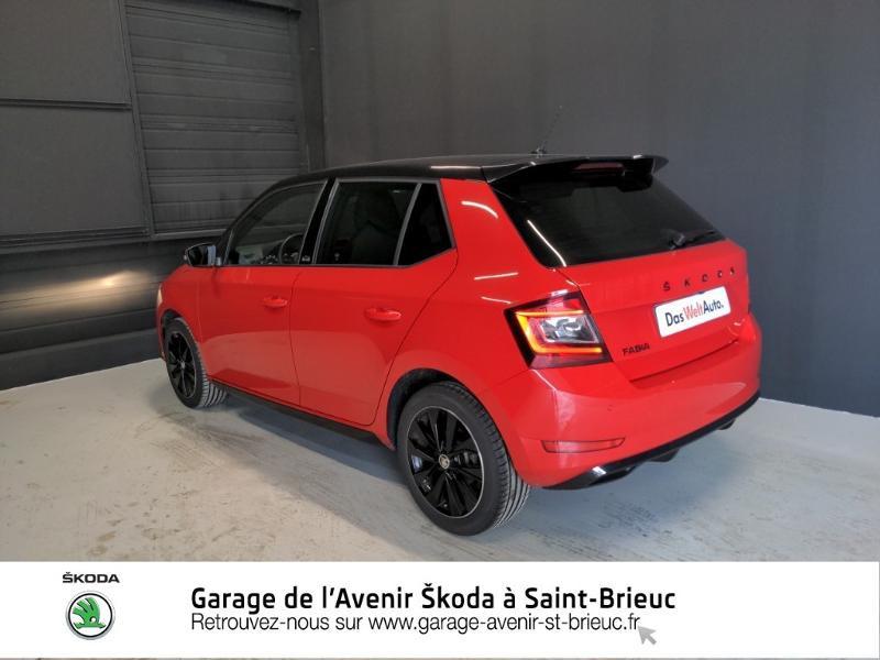 Photo 3 de l'offre de SKODA Fabia 1.0 TSI 95ch Monte Carlo Euro6d-T à 14890€ chez Garage de l'Avenir - SKODA Saint Brieuc