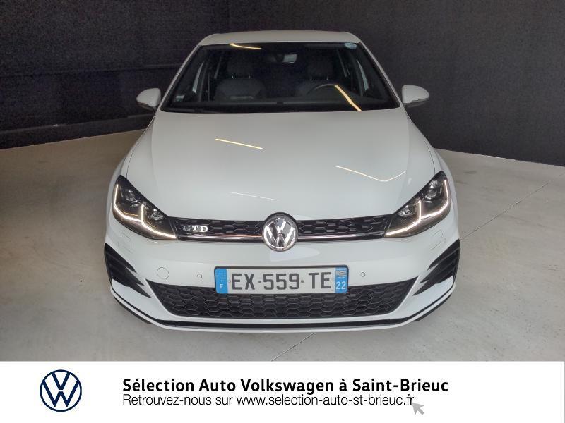Photo 5 de l'offre de VOLKSWAGEN Golf 2.0 TDI 184ch FAP GTD 5p à 24890€ chez Sélection Auto - Volkswagen Saint Brieuc