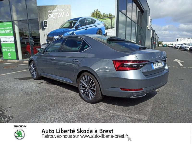 Photo 3 de l'offre de SKODA Superb 1.4 TSI PHEV 218ch Laurin&Klement DSG6 Euro6d-T EVAP à 43990€ chez Auto Liberté - SKODA Brest