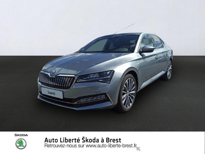 Skoda Superb 1.4 TSI PHEV 218ch Laurin&Klement DSG6 Euro6d-T EVAP Hybride GRIS BUSINESS Occasion à vendre