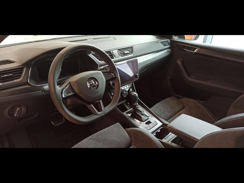 Photo 3 de l'offre de SKODA Superb 2.0 TDI 190ch SCR Sportline DSG7 Euro6d-T EVAP à 37990€ chez Auto Liberté - SKODA Brest