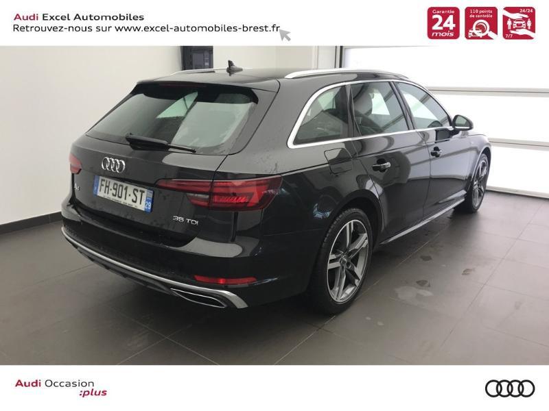 Photo 4 de l'offre de AUDI A4 Avant 2.0 TDI 150ch S line S tronic 7 à 38960€ chez Excel Automobiles – Audi Brest