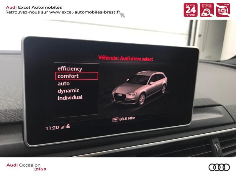 Photo 11 de l'offre de AUDI A4 Avant 2.0 TDI 150ch S line S tronic 7 à 38960€ chez Excel Automobiles – Audi Brest
