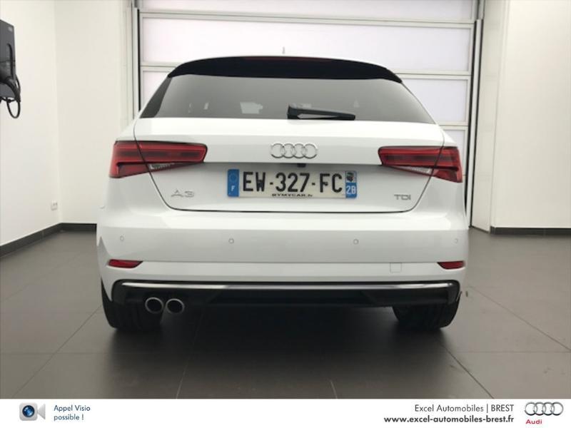 Photo 5 de l'offre de AUDI A3 2.0 TDI 150ch Design luxe S tronic 7 à 26960€ chez Excel Automobiles – Audi Brest