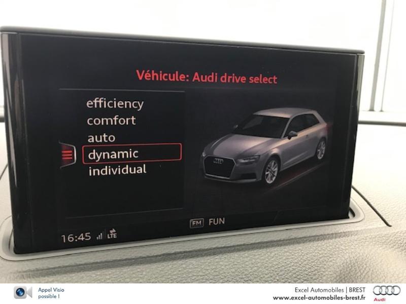 Photo 13 de l'offre de AUDI A3 2.0 TDI 150ch Design luxe S tronic 7 à 26960€ chez Excel Automobiles – Audi Brest