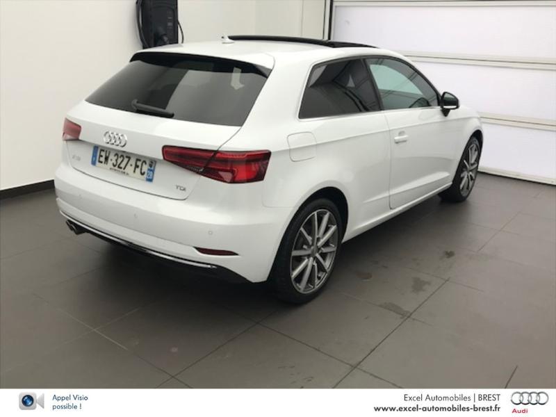 Photo 4 de l'offre de AUDI A3 2.0 TDI 150ch Design luxe S tronic 7 à 26960€ chez Excel Automobiles – Audi Brest