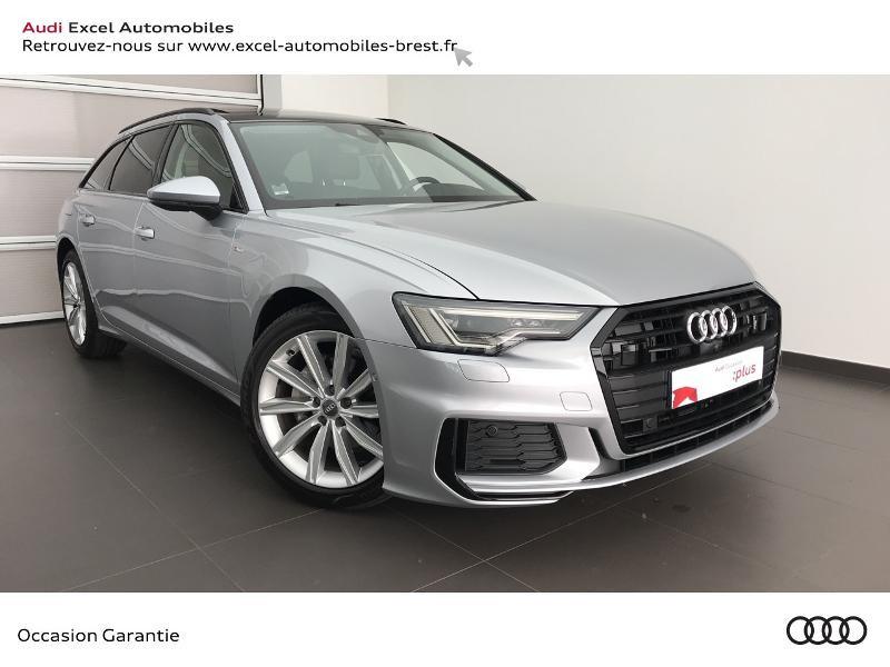 Audi A6 Avant 40 TDI 204ch Avus Extended S tronic 7 Diesel gris argent fleuret Occasion à vendre