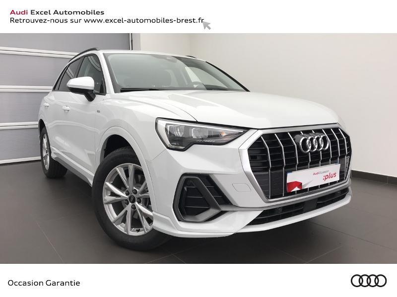 Audi Q3 35 TFSI 150ch Design S tronic 7 Essence BLANC GLACIER Occasion à vendre