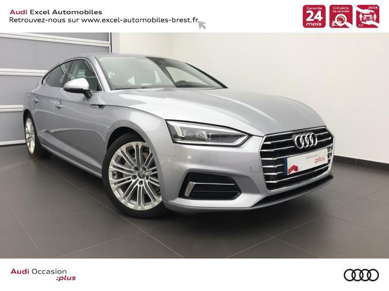 Audi A5 Sportback 2.0 TDI 190ch Design Luxe S tronic 7 Diesel ARGENT FLEURET METAL Occasion à vendre
