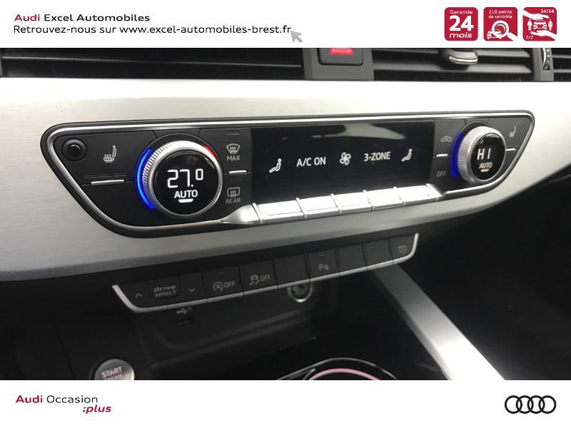Photo 12 de l'offre de AUDI A4 Avant 35 TDI 163ch S line S tronic 7 94g à 39990€ chez Excel Automobiles – Audi Brest