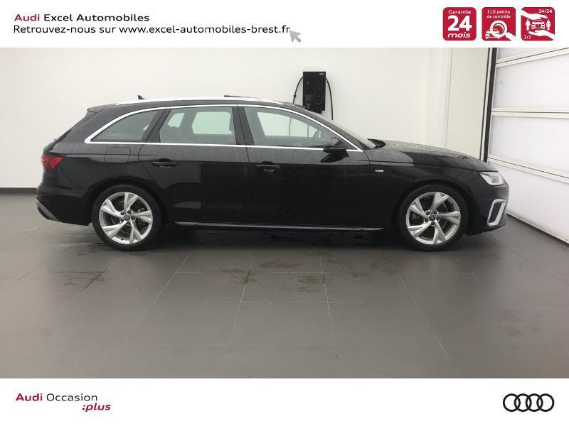 Photo 3 de l'offre de AUDI A4 Avant 35 TDI 163ch S line S tronic 7 94g à 39990€ chez Excel Automobiles – Audi Brest