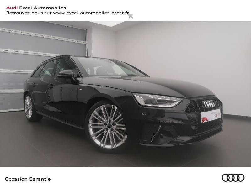 Audi A4 Avant 40 TDI 190ch S line Stronic 7 Diesel NOIR MYTHIC METALLIS Occasion à vendre