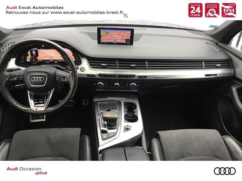 Photo 7 de l'offre de AUDI Q7 3.0 V6 TDI 218ch ultra clean diesel S line quattro Tiptronic 5 places à 41940€ chez Excel Automobiles – Audi Brest