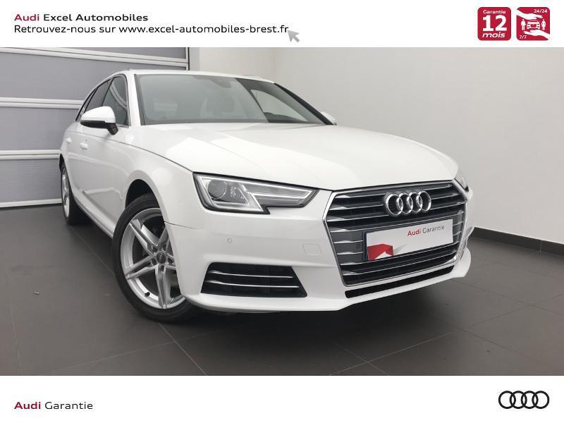Photo 1 de l'offre de AUDI A4 Avant 2.0 TDI 150ch S line S tronic 7 à 24460€ chez Excel Automobiles – Audi Brest