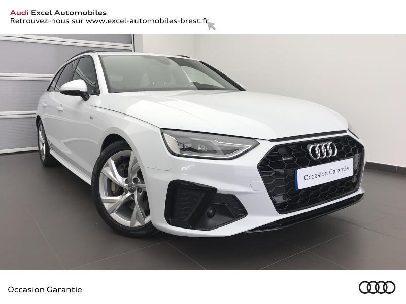 Audi A4 Avant 45 TDI 231ch S line quattro tiptronic 8 Diesel BLANC GLACIER METALL Occasion à vendre