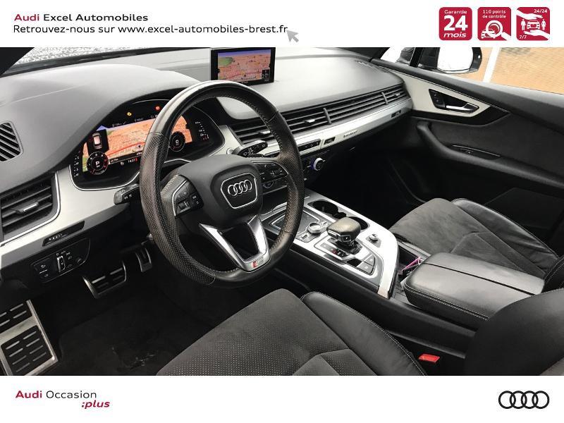 Photo 6 de l'offre de AUDI Q7 3.0 V6 TDI 218ch ultra clean diesel S line quattro Tiptronic 5 places à 41940€ chez Excel Automobiles – Audi Brest