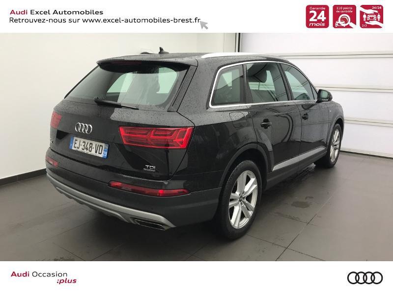 Photo 4 de l'offre de AUDI Q7 3.0 V6 TDI 218ch ultra clean diesel S line quattro Tiptronic 5 places à 41940€ chez Excel Automobiles – Audi Brest