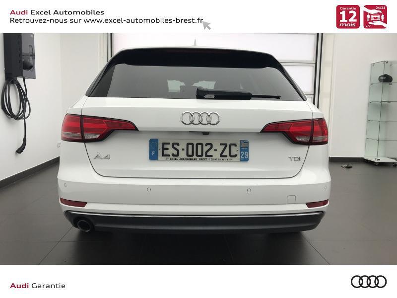 Photo 5 de l'offre de AUDI A4 Avant 2.0 TDI 150ch S line S tronic 7 à 24460€ chez Excel Automobiles – Audi Brest