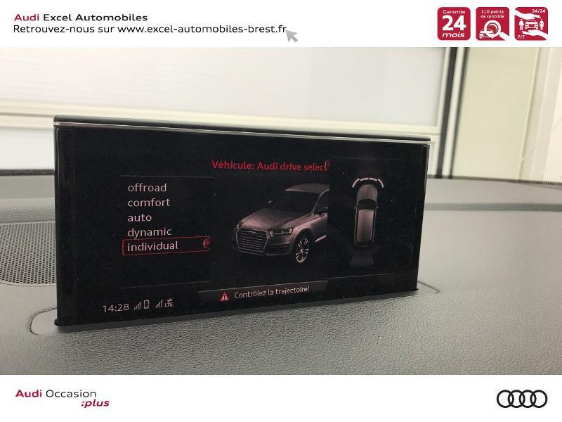 Photo 13 de l'offre de AUDI Q7 3.0 V6 TDI 218ch ultra clean diesel S line quattro Tiptronic 5 places à 41940€ chez Excel Automobiles – Audi Brest