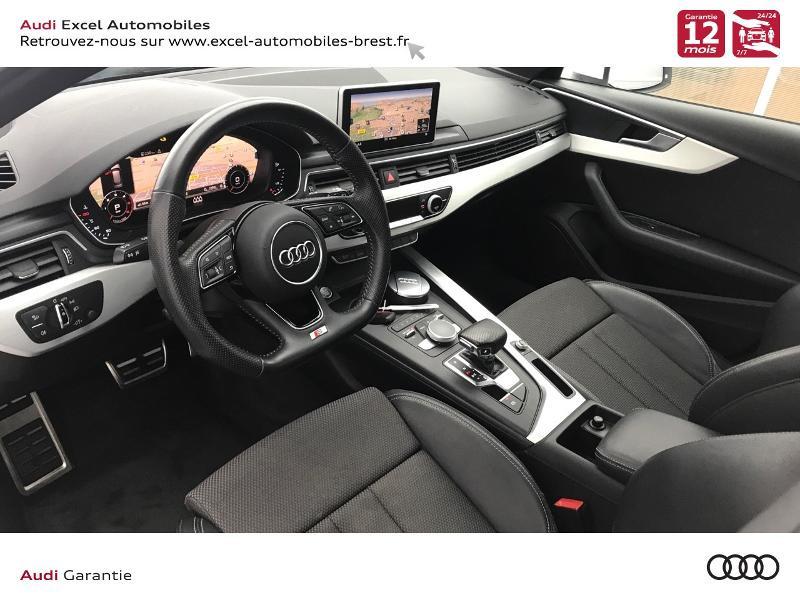 Photo 6 de l'offre de AUDI A4 Avant 2.0 TDI 150ch S line S tronic 7 à 24460€ chez Excel Automobiles – Audi Brest