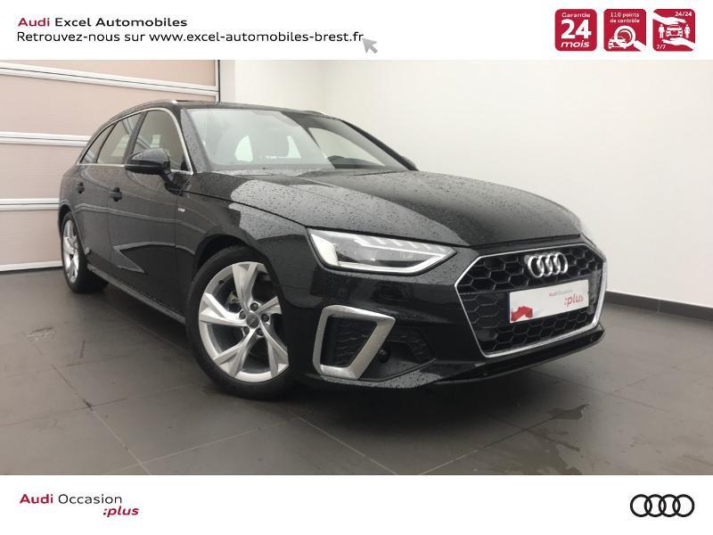 Photo 1 de l'offre de AUDI A4 Avant 35 TDI 163ch S line S tronic 7 94g à 39990€ chez Excel Automobiles – Audi Brest
