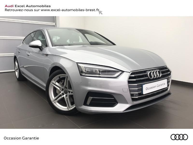 Audi A5 Sportback 2.0 TDI 190ch S line S tronic 7 Diesel ARGENT FLEURET METAL Occasion à vendre