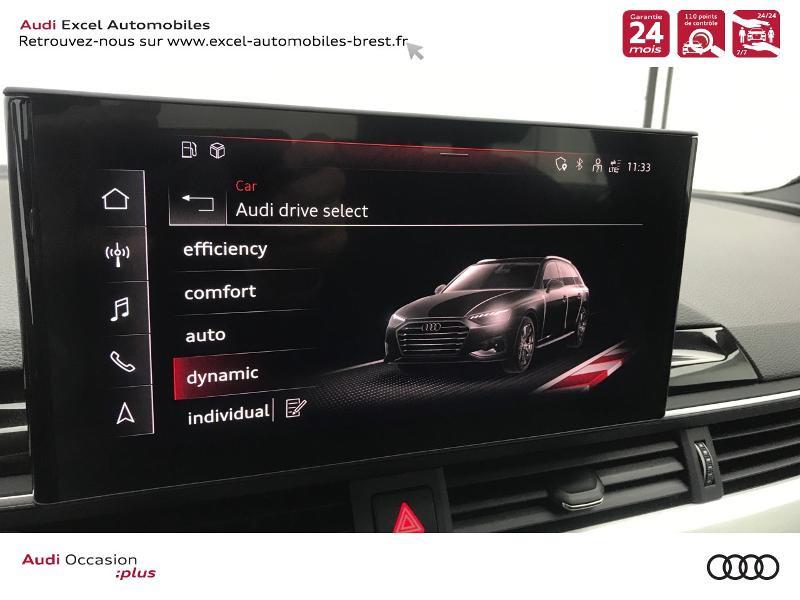 Photo 14 de l'offre de AUDI A4 Avant 35 TDI 163ch S line S tronic 7 94g à 39990€ chez Excel Automobiles – Audi Brest