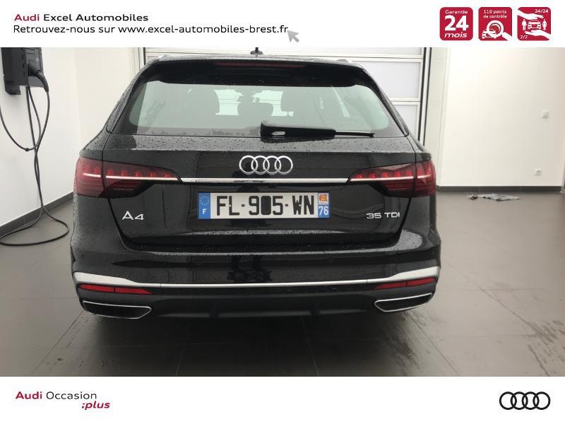 Photo 5 de l'offre de AUDI A4 Avant 35 TDI 163ch S line S tronic 7 94g à 39990€ chez Excel Automobiles – Audi Brest