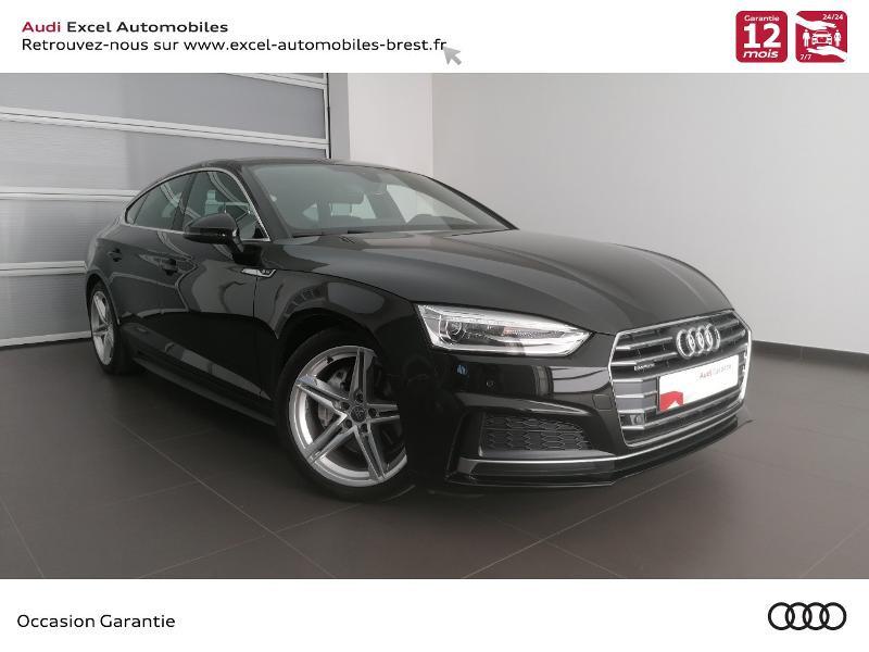 Audi A5 Sportback 2.0 TDI 190ch S line quattro S tronic 7 10cv Diesel NOIR MYTHIC METALLIS Occasion à vendre