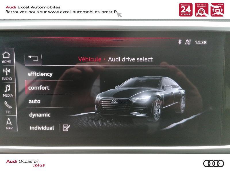 Photo 10 de l'offre de AUDI A7 Sportback 50 TDI 286ch Avus quattro tiptronic 8 Euro6d-T 138g à 59900€ chez Excel Automobiles – Audi Brest