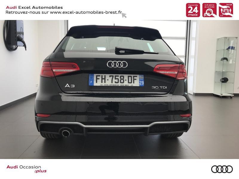 Photo 5 de l'offre de AUDI A3 Sportback 30 TDI 116ch S line Plus Euro6d-T à 26990€ chez Excel Automobiles – Audi Brest