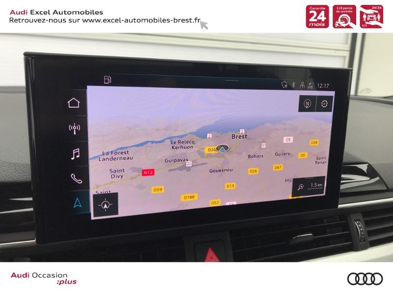 Photo 11 de l'offre de AUDI A4 Avant 35 TDI 163ch S line S tronic 7 94g à 39900€ chez Excel Automobiles – Audi Brest
